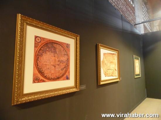 """''Piri Reis ve 1513 Dünya Haritası: 500 Yılın Gizemi"""" sergisi 69"""