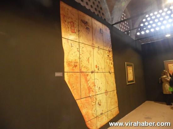 """''Piri Reis ve 1513 Dünya Haritası: 500 Yılın Gizemi"""" sergisi 81"""