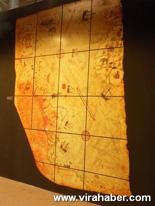 """''Piri Reis ve 1513 Dünya Haritası: 500 Yılın Gizemi"""" sergisi 82"""