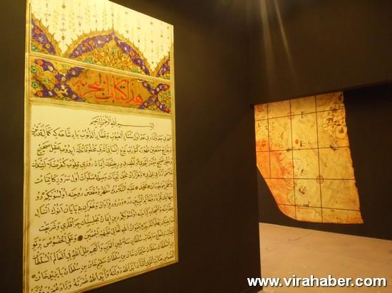 """''Piri Reis ve 1513 Dünya Haritası: 500 Yılın Gizemi"""" sergisi 84"""