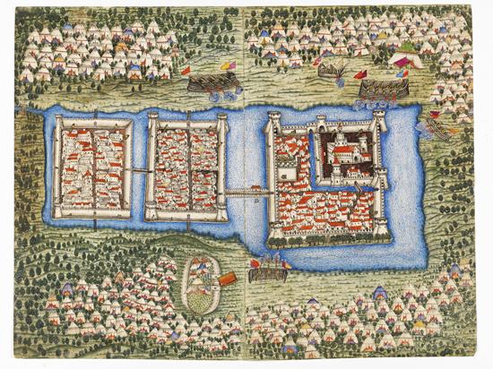 600 Yıllık Haritalar Topkapı Sarayı'nda 13