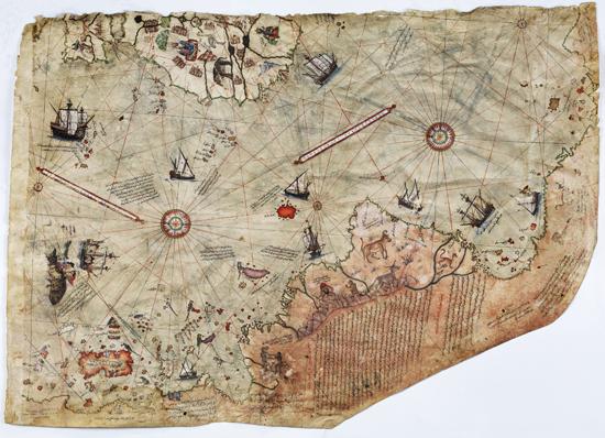 600 Yıllık Haritalar Topkapı Sarayı'nda 4