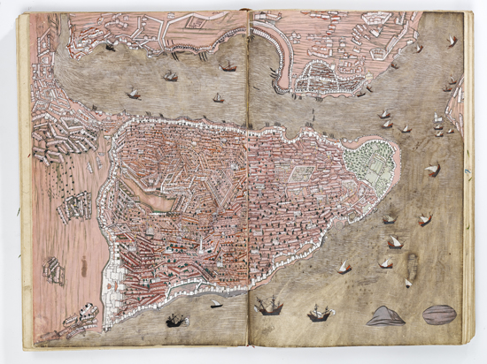 600 Yıllık Haritalar Topkapı Sarayı'nda 9