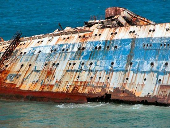 """En Güzel Batık Gemi """"American Star"""" 6"""