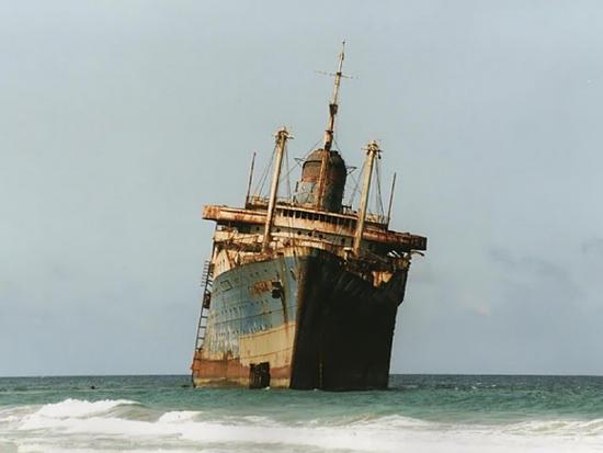 """En Güzel Batık Gemi """"American Star"""" 8"""