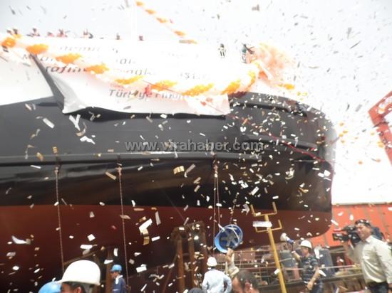 """Ada Tersanesinin 3.gemisi """"Lovund"""" denize indirildi 85"""