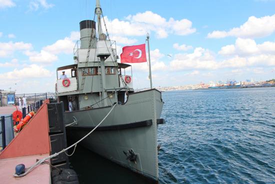 Nusret Mayın Gemisi İstanbul'da 1