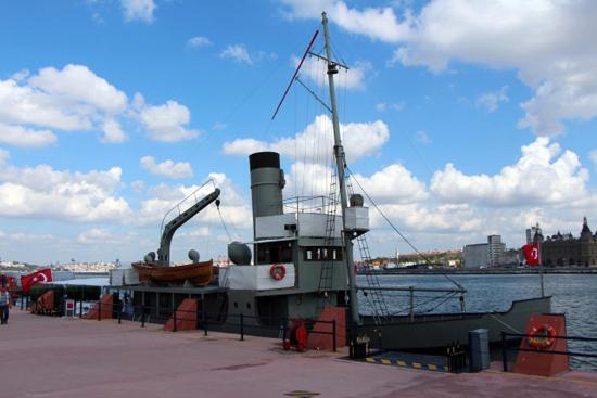 Nusret Mayın Gemisi İstanbul'da 5