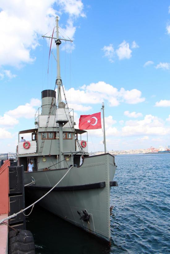 Nusret Mayın Gemisi İstanbul'da 6