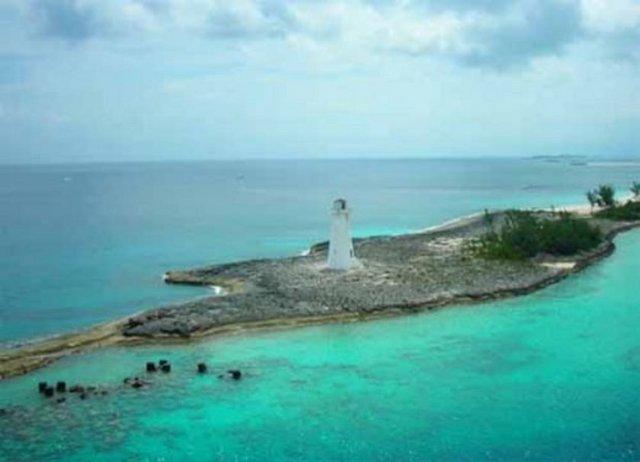Okyanusu 3 renge ayıran Eleuthera adası 7