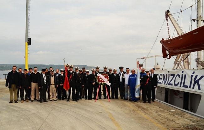 İTÜ Denizcilik Fakültesi Çanakkale Zaferi Anma Seferi 1