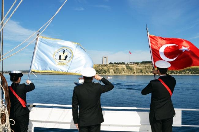 İTÜ Denizcilik Fakültesi Çanakkale Zaferi Anma Seferi 16