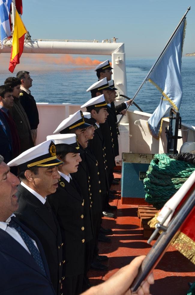 İTÜ Denizcilik Fakültesi Çanakkale Zaferi Anma Seferi 18