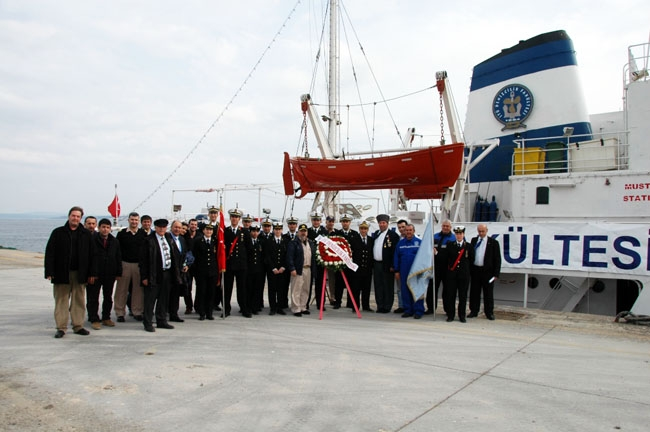 İTÜ Denizcilik Fakültesi Çanakkale Zaferi Anma Seferi 9