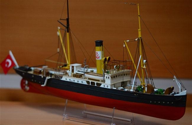 Atatürk'ün teknelerinin maketleri Anıtkabir'de sergilenecek 10