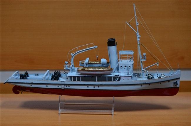Atatürk'ün teknelerinin maketleri Anıtkabir'de sergilenecek 12