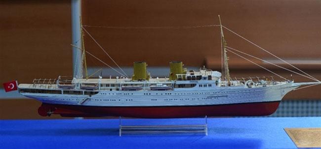 Atatürk'ün teknelerinin maketleri Anıtkabir'de sergilenecek 14