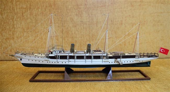 Atatürk'ün teknelerinin maketleri Anıtkabir'de sergilenecek 4