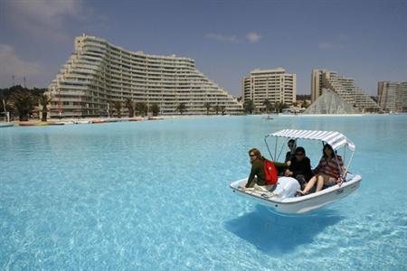 Dünyanın en büyük havuzu 1
