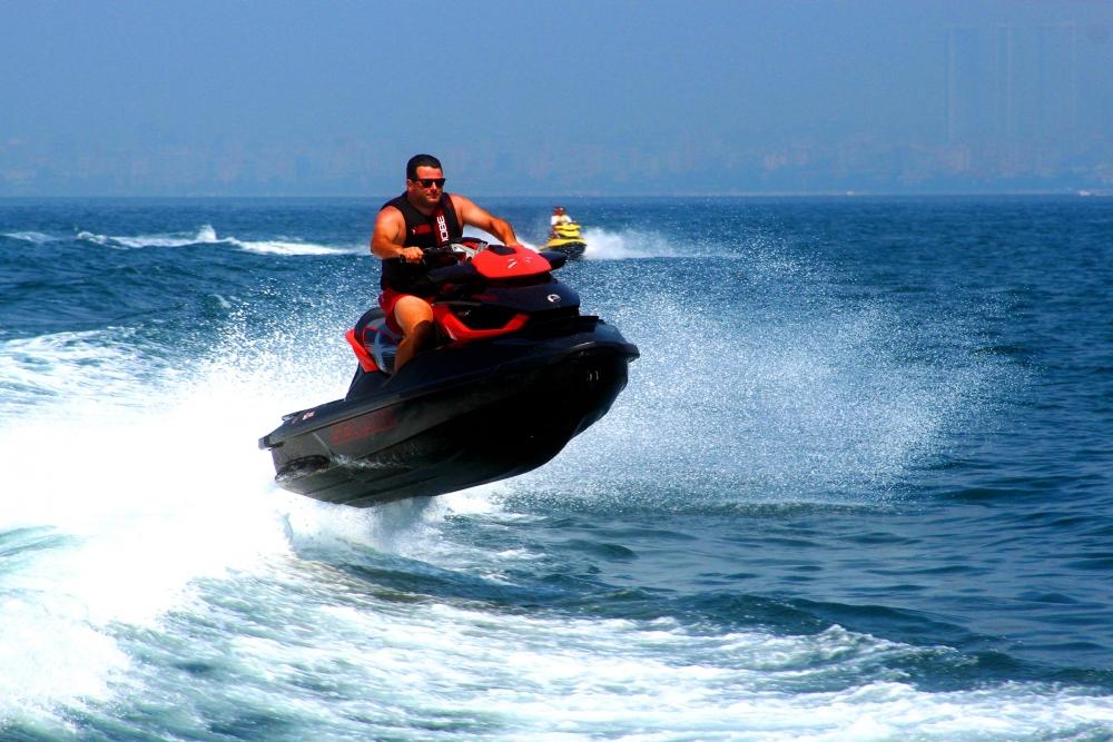Jet-ski tutkunları Marmara'da buluştu 4
