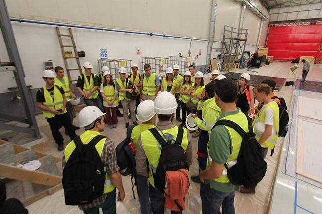 Belçikalı gemi inşa öğrencileri Özata Tersanesi'ni ziyaret etti 2