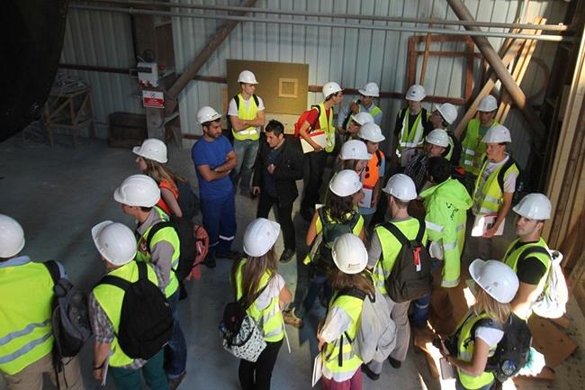 Belçikalı gemi inşa öğrencileri Özata Tersanesi'ni ziyaret etti 7