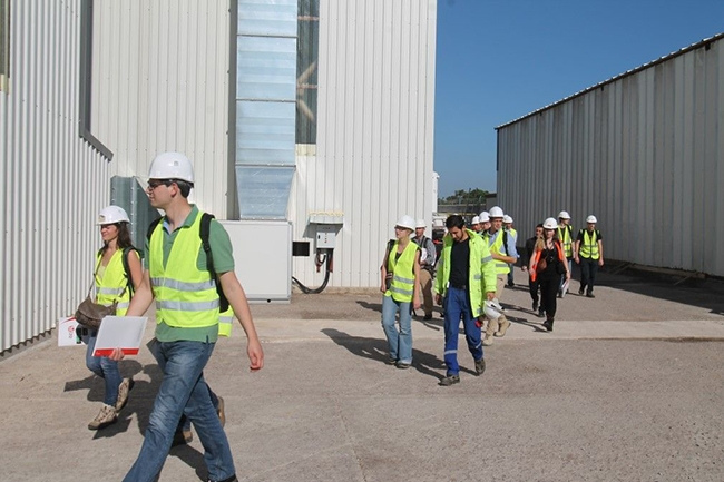 Belçikalı gemi inşa öğrencileri Özata Tersanesi'ni ziyaret etti 9