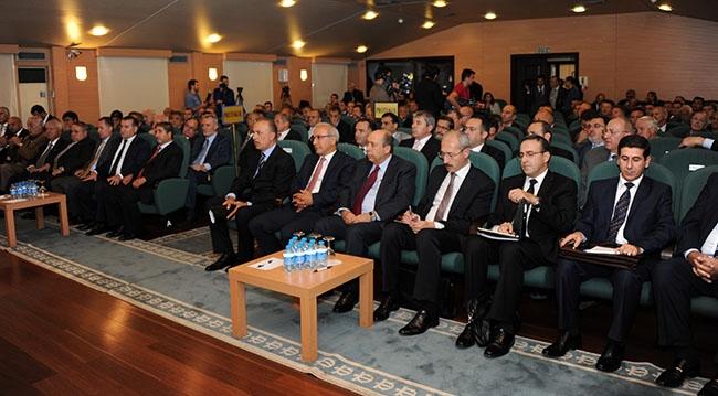 Lütfi Elvan DTO toplantısına katıldı 1