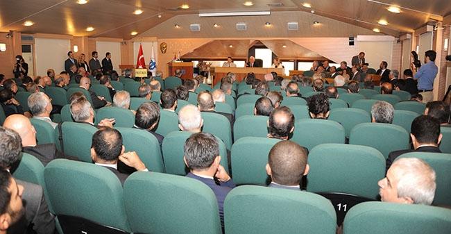 Lütfi Elvan DTO toplantısına katıldı 4