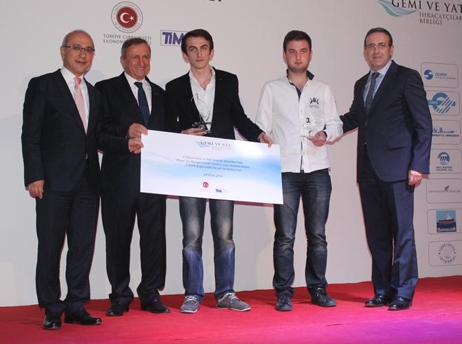 3. Ulusal Gemi ve Yat Tasarım Yarışması'nda ödüller sahiplerini buldu 12