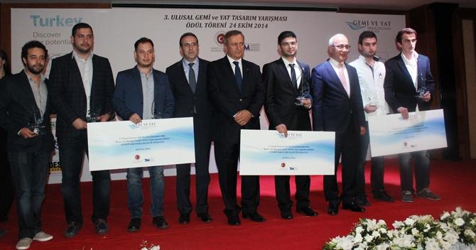 3. Ulusal Gemi ve Yat Tasarım Yarışması'nda ödüller sahiplerini buldu 16