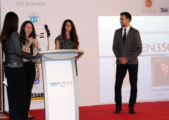 3. Ulusal Gemi ve Yat Tasarım Yarışması'nda ödüller sahiplerini buldu 3