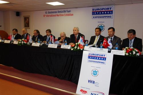 Europort'ta Vira Konferansları 2