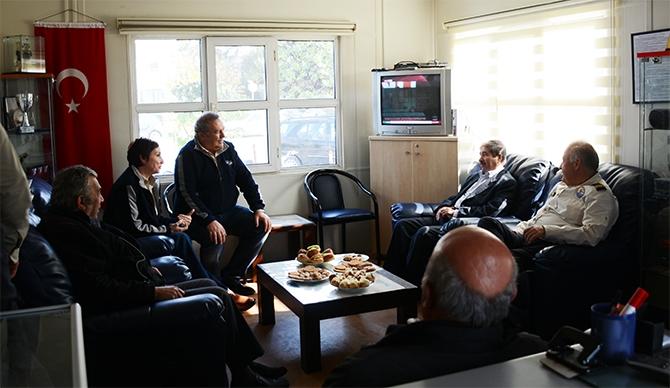 Yaşar Duran Aytaş DAK/SAR'ı ziyaret etti 1