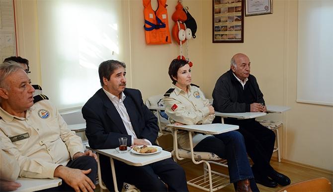 Yaşar Duran Aytaş DAK/SAR'ı ziyaret etti 3