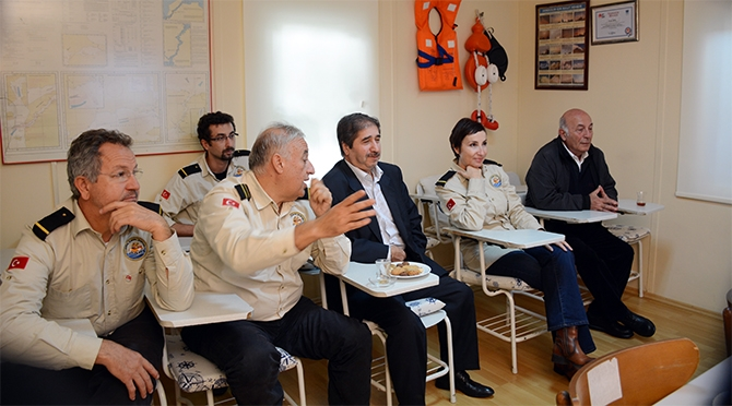 Yaşar Duran Aytaş DAK/SAR'ı ziyaret etti 4