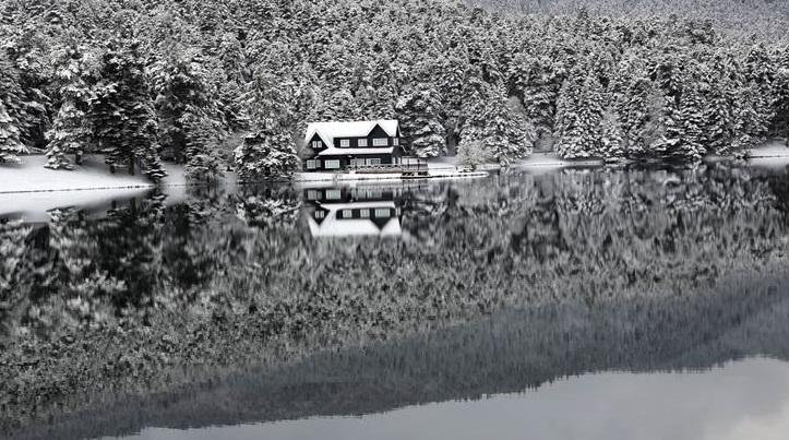 Abant Gölü'nden karpostallık kareler 3