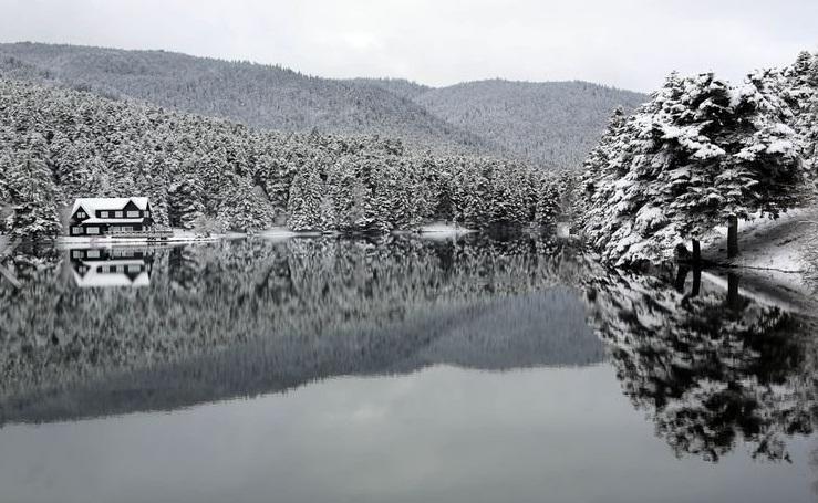 Abant Gölü'nden karpostallık kareler 4