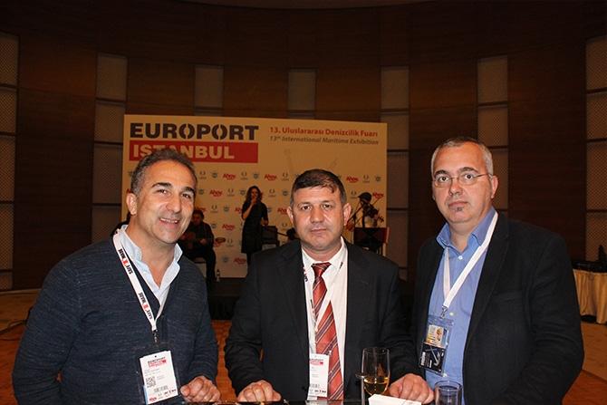 Denizcilik sektörü Europort Resepsiyonu'nda biraraya geldi 12