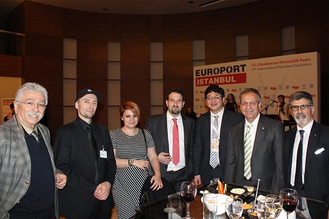 Denizcilik sektörü Europort Resepsiyonu'nda biraraya geldi 2