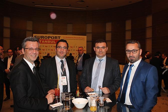 Denizcilik sektörü Europort Resepsiyonu'nda biraraya geldi 8