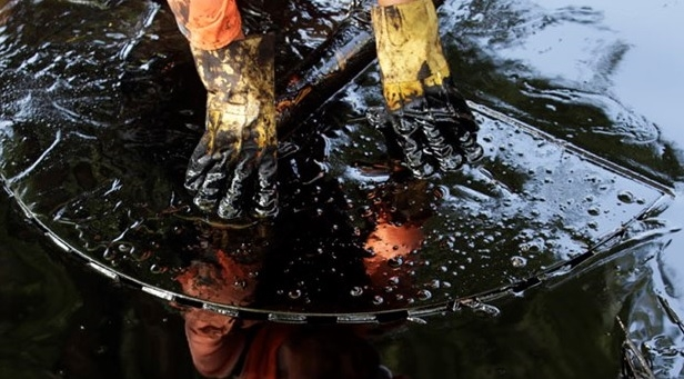 21 bin galon petrol okyanusa sızdı 1