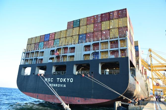 Asyaport'a ilk gemi yanaştı 31