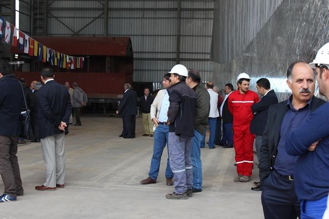 DENTUR Avrasya'nın yeni nesil gemilerinin yapımına başlandı 5