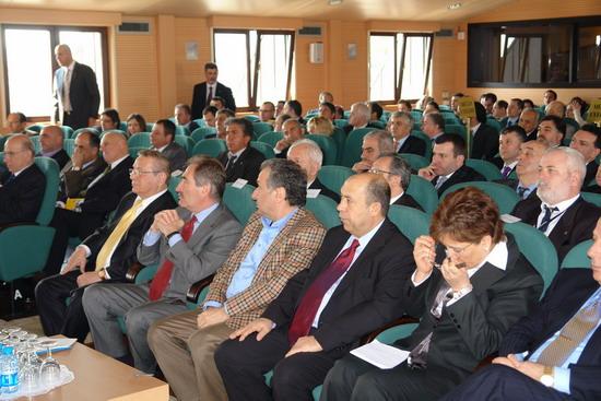 Bakan Günay DTO toplantısına katıldı 1
