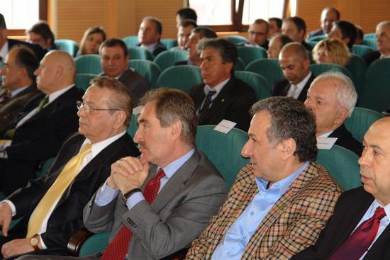 Bakan Günay DTO toplantısına katıldı 2