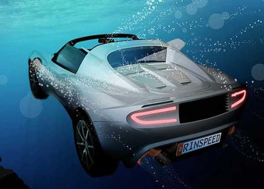 Yüzen araba 1