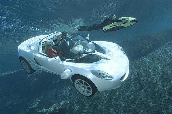 Yüzen araba 3