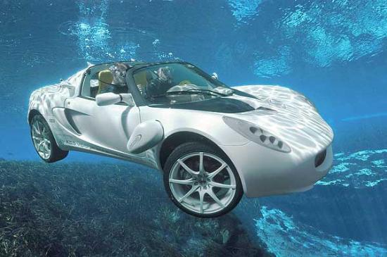 Yüzen araba 4