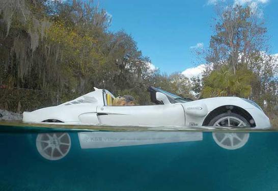 Yüzen araba 6